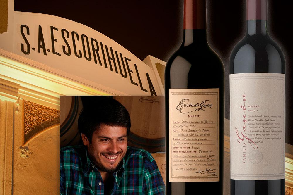 5 preguntas al enólogo de los vinos de Escorihuela Gascón