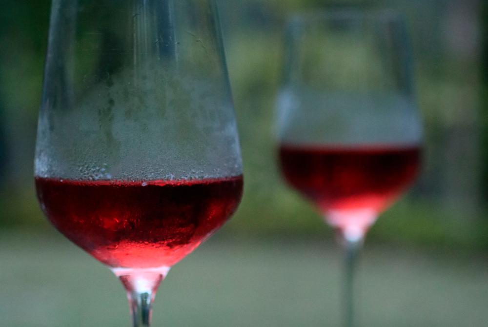 El vino viaja en color rosé