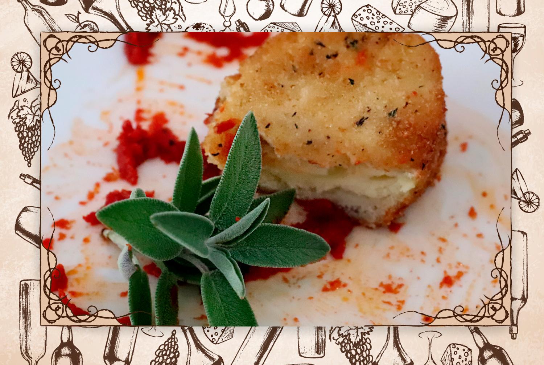 """Maravilla: """"La mozzarella in carroza sobre salsa de tomate casera"""". (FOTO: @gastrobrand)"""