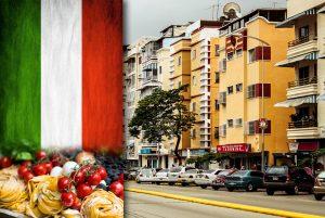 Italia en Venezuela: copa mesa y sobremesa