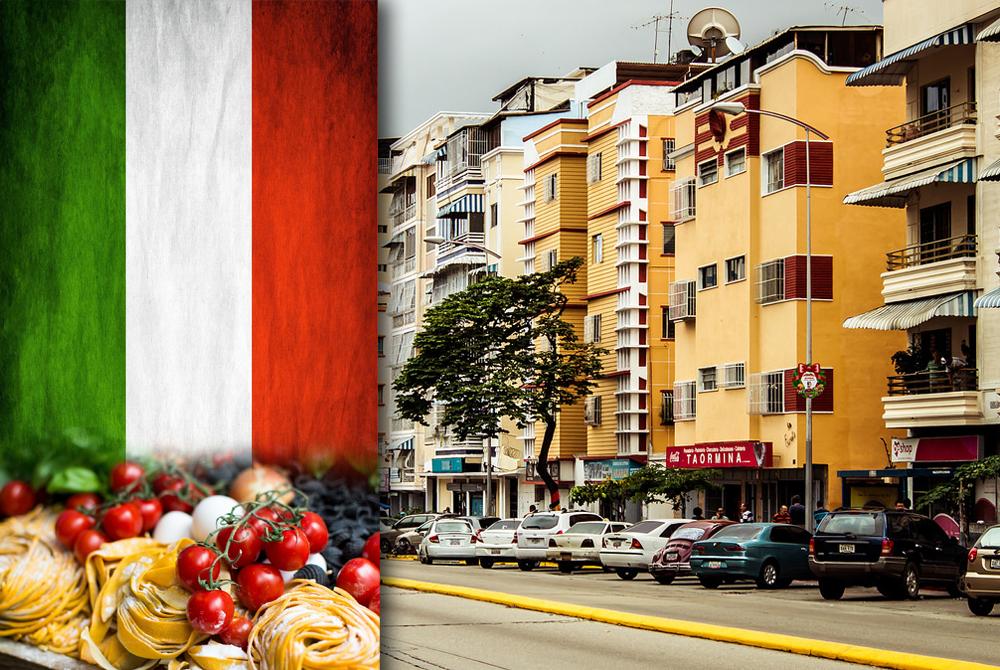 En este momento estás viendo Italia en Venezuela: copa mesa y sobremesa