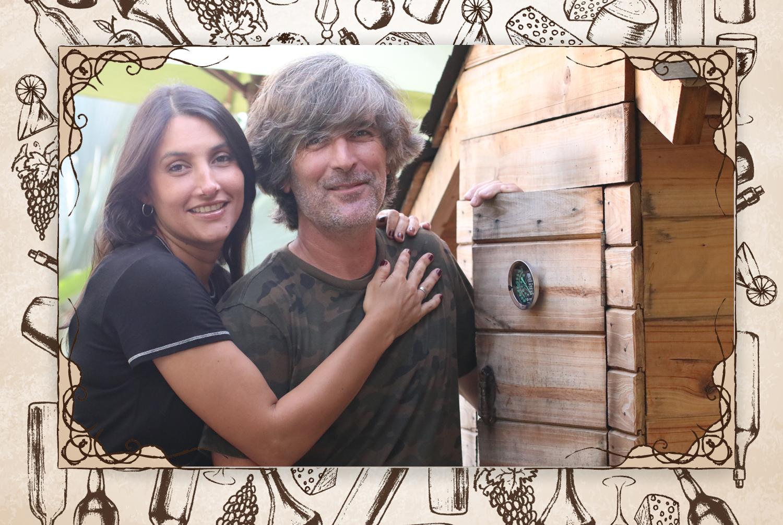 """Un valor: """"Cristina Blanco y Álvaro Carbonell son dos enamorados de Venezuela que procuran la calidad en su firma. Son comprometidos con la calidad y por eso han crecido de manera sostenida"""".  (Foto: Natalia Brand @gastrobrand)"""