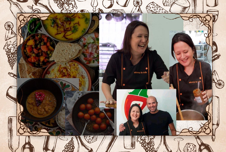 """Así me presento: """"Me llamo Alejandra Gómez y llevo como emprendedora gastronómica la firma Sabores de India. Disfruto del comer con fundamento y tradición""""."""