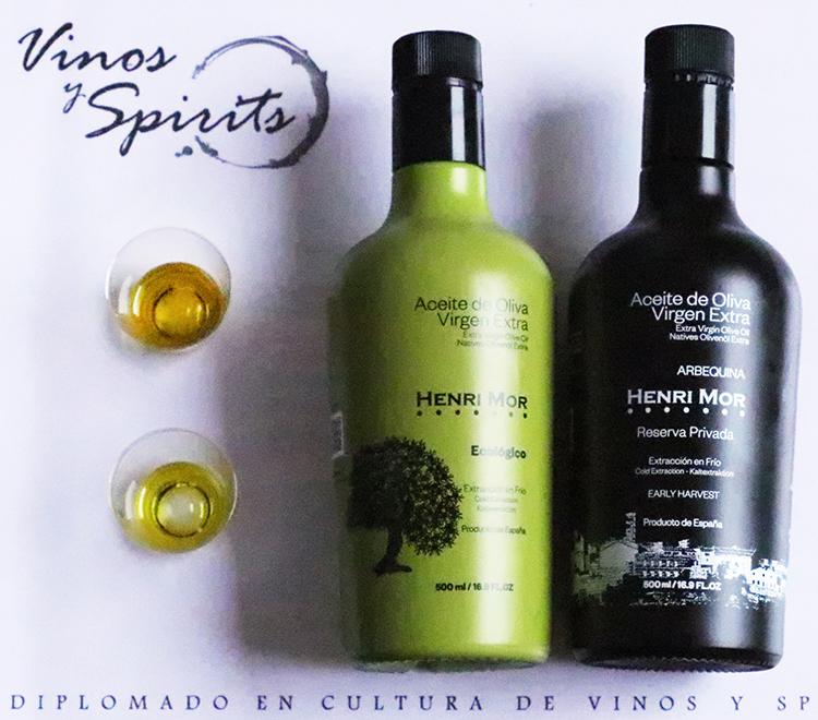 aceites de oliva virgen extra henri mor