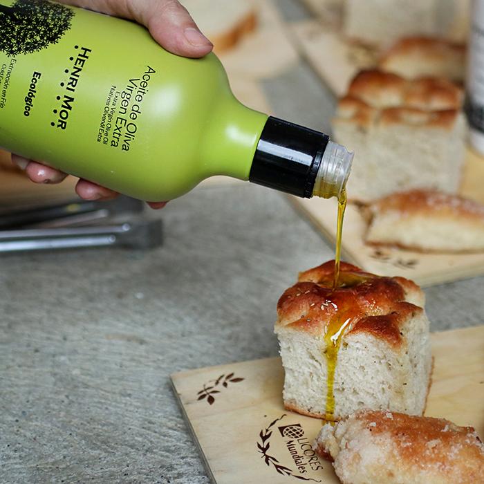 Henri Mor ecológico con focaccia de La Miga Artisan Bakery