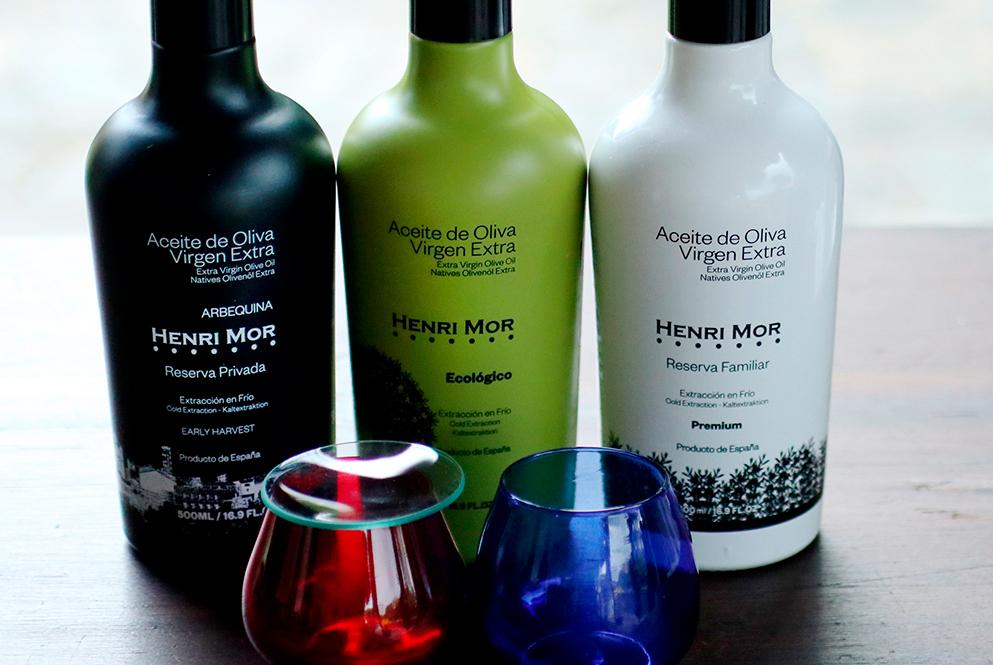 Aceite de oliva virgen extra Henri Mor