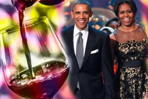 Unas copas de vino con los Obama
