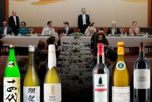 Grandes vinos en la mesa imperial nipona