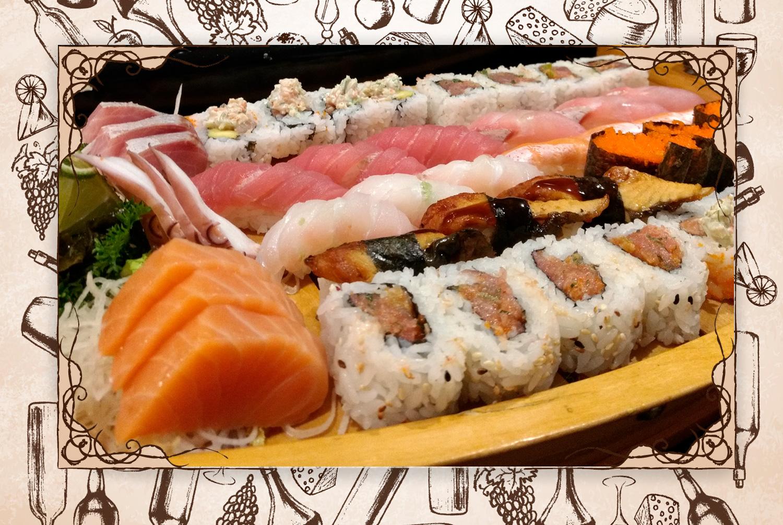 """Destaco: """"El sashimi y los nigiris son las estrellas del lugar. Presentando una variedad de cortes de pescados y mariscos"""". (Foto: Luisana Altamiranda)"""