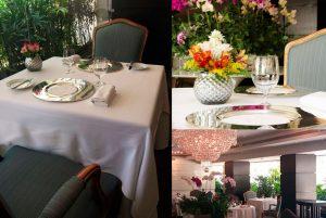 Las orquídeas ya no están en la mesa